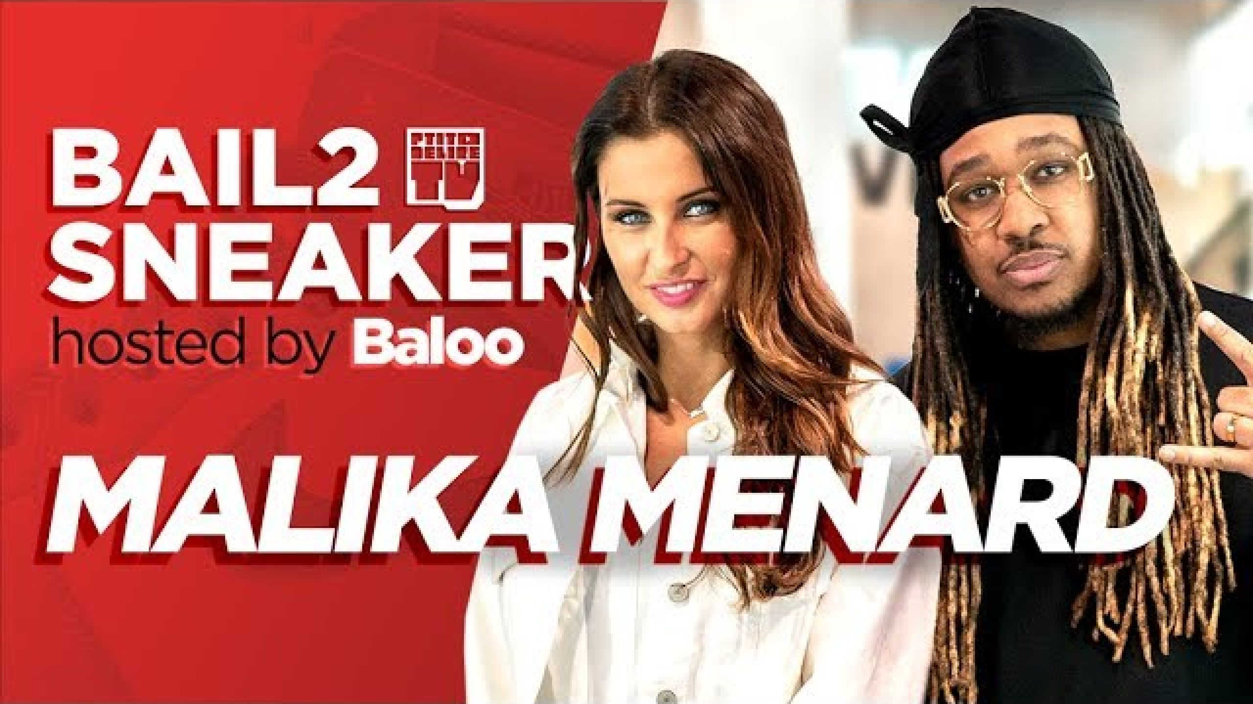 MALIKA MENARD – Bail 2 Sneakers