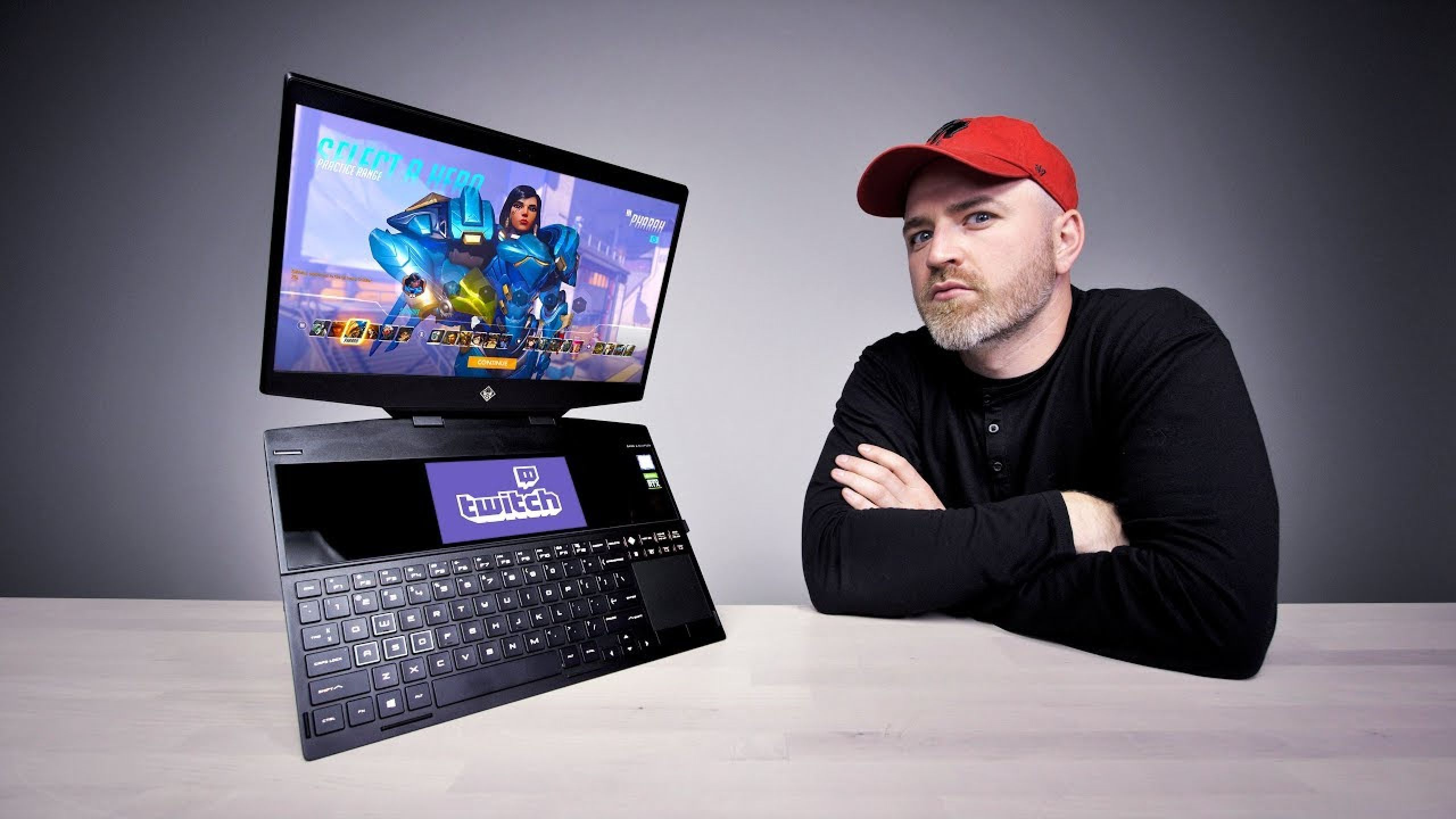 The World's First Dual-Screen Gaming Laptop: Clothes