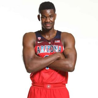 buy popular 3d499 30259 The Basketball jersey Nike Arizona Wildcats Deandre Ayton on ...