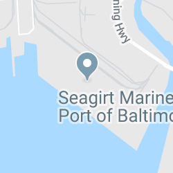 Seagirt Marine Terminal, Port of Baltimore, Broening Hwy, Baltimore, MD, USA