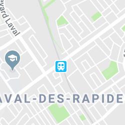 De la Concorde Station, Boulevard de la Concorde Ouest, Laval, QC, Canada