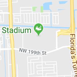 Hard Rock Stadium, Don Shula Dr, Miami Gardens, Floride, États-Unis