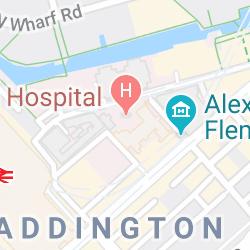 St Mary's Hospital, Praed Street, London, UK