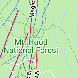 Timberline Lodge and Ski Area, Government Camp, Oregon, États-Unis