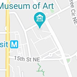The Museum Shop at the High Museum of Art, Peachtree Street Northeast, Atlanta, Géorgie, États-Unis