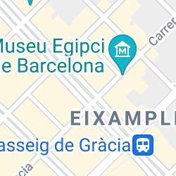 Passeig de Gràcia, Barcelona, España
