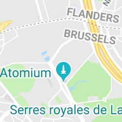ADAM - Art & Design Atomium Museum, Place de Belgique 1 1020 Bruxelles, Belgique