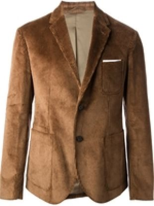 NEIL BARRETT corduroy blazer