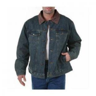 Wrangler Men's Jackets Blanket Lined Denim Jacket