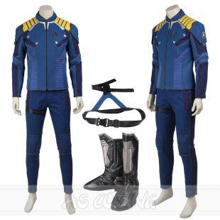 Star Trek 3 Beyond Captain Kirk Costume Commander Kirk Cosplay Costume Full SIZE