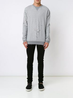 AMIRI  distressed sweater