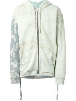 FAITH CONNEXION  tie dye zip hoodie