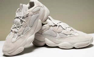 timeless design 441ad 1102f The pair of Adidas Yeezy 500 Super Moon Yellow range by ...