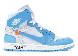 Jordan 1 Retro High Off White University Blue