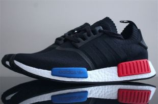 Sneakers Adidas Nmd R1 OG PK Lush Blue White Red from Karim