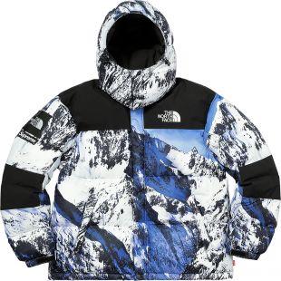 Supreme The North Face Mountain Baltoro Jacket Blue/White