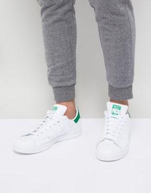 adidas Originals   Stan Smith   Baskets en cuir   Blanc M20324 at asos.com