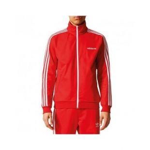 veste adidas rouge homme