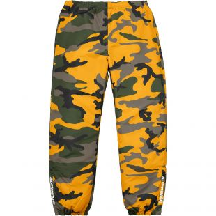Supreme Warm Up Pant Yellow Camo