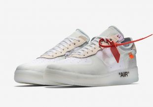 Nike Air Force 1 Low Off White Black White of DJ Khaled in