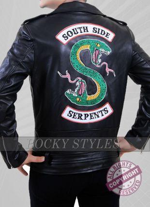 Riverdale Southside Serpents Leather Jacket For Men an Women  | eBay