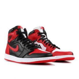 "Air Jordan 1 Retro ""homage To Home""   Air Jordan   861428 061   black/university red white | Flight Club"