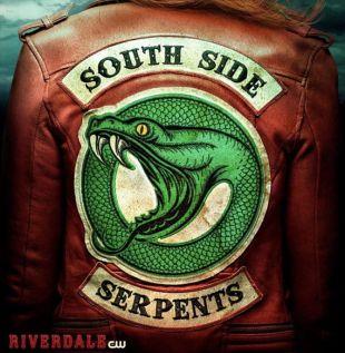 Veste en serpent côté sud Cheryl * EDITION limitée *