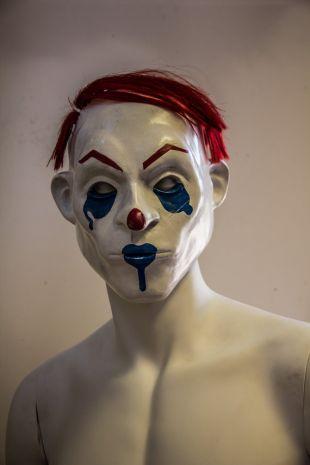 1:1 heureux Dark Knight TDK masque, acolyte, masque de Clown, Prop