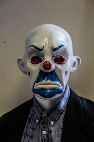 Bozo (Masque Joker) 1:1 Dark Knight TDK masque, Prop