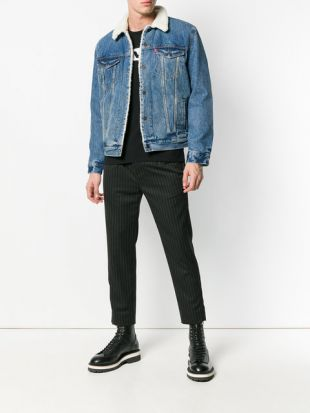 Levi's Faux Fur Lined Denim Jacket   Farfetch