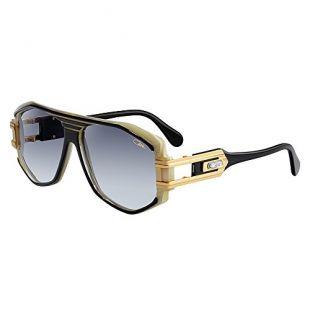 Cazal Lunettes de Soleil Sunglasses Legends 163/3 095 Black Horn Gold Grey 100% Authentic