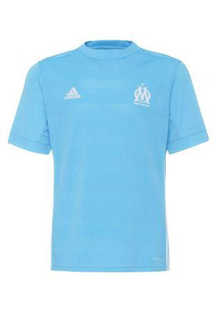 Adidas performance olympique marseille - t-shirt de sport - blue enfant bleu clair vêtements de sport t-shirts fonctionnels [AD543D0NG-K11] - €41.97 : Adidas France Online Boutique, Adidas Chaussures