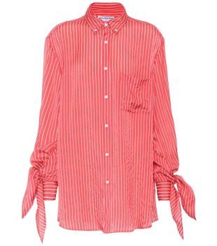 Chemise à rayures