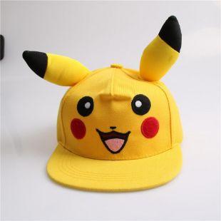 Casquette Pokemon Pikachu Enfant ou Adulte Snapback Pokemon Pikachu Adjustable Cap