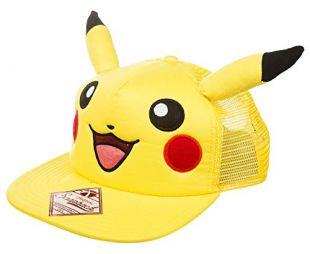 Casquette de Baseball arrire de Pikachu Snap avec oreilles