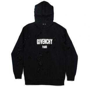 SWEATSHIRT À CAPUCHE GIVENCHY PARIS DESTROYED