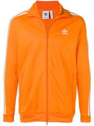 La veste de survêtement Adidas Originals vintage orange de