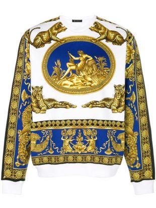 Versace Sweat à Imprimé Baroque    Farfetch