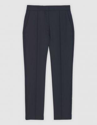 Pantalon droit 7/8ème avec galons