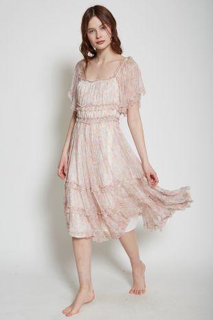 Sadie Printed Summer Romance Dress