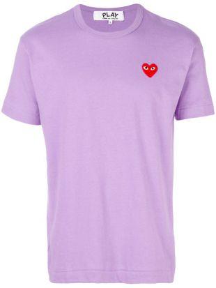 Comme Des Garçons Play Short Sleeve Logo T shirt