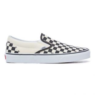 Chaussures Checkerboard Classic Slip On | Noir | Vans