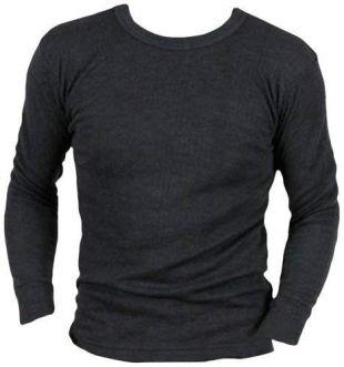 Sous-vêtement homme sous-pull thermique à manches longues nouveau modèle  - Gris - Gris - M