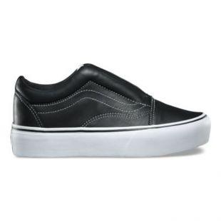 La paire de sneakers Old Skool Vans x KARL LAGERFELD noires