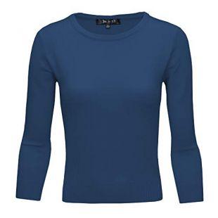 Crewneck Lightweight  Pullover Sweater