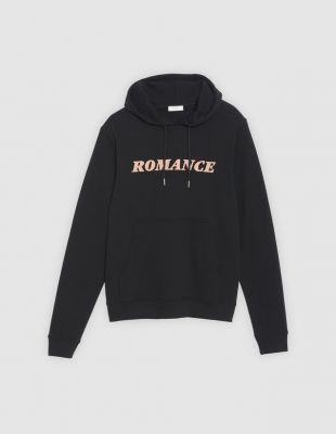 Sweat floqué Romance