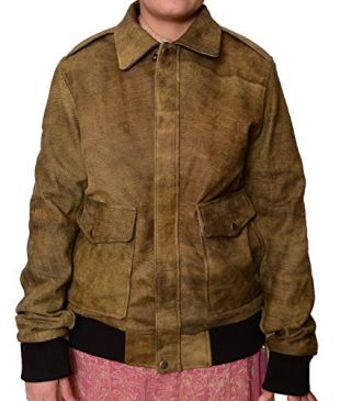 The End Of The F ing World Jacket Women's Oversized Alyssa Jessica Barden Jacket (XS, Brown Stone Wash)