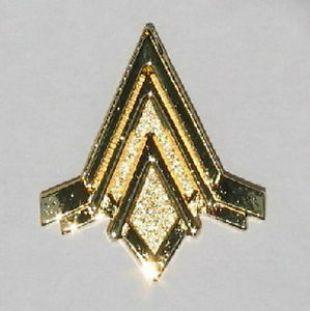 L'insigne des ailes de Pilote Viper du Battlestar Galactica