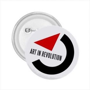 "Art in Revolution 2.25"" Button Badge BTTF Marty Mcfly"