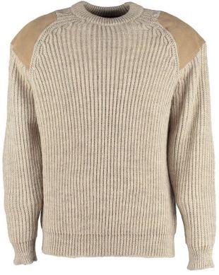 Niffi Chatsworth Classic Outdoor Sweater, Jumper, Light Grey Welsh    eBay